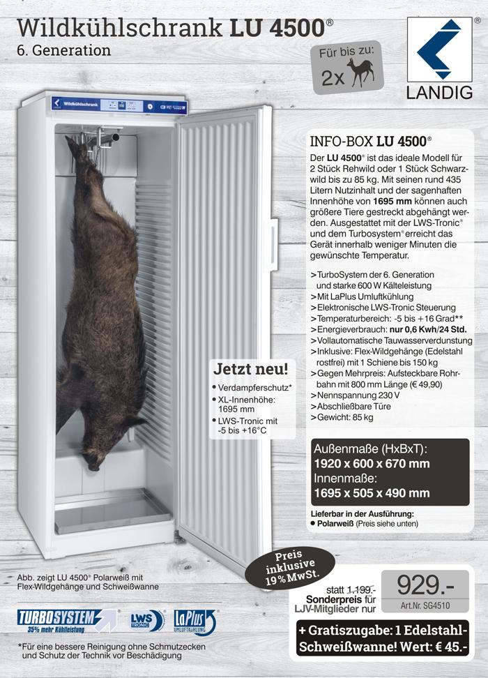 LU 4500 - zum LJV-Sonderpreis bestellen!