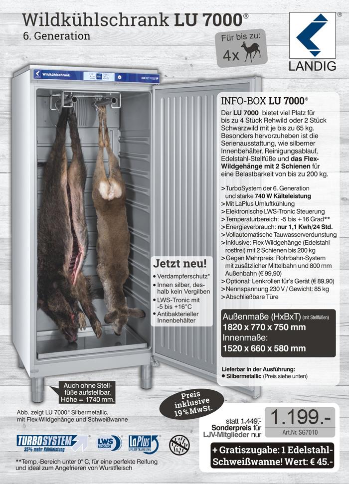 LU 7000 - zum LJV-Sonderpreis bestellen!