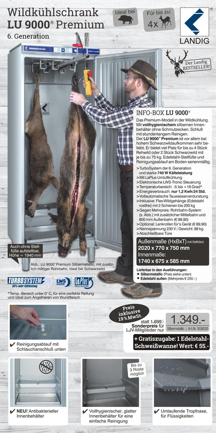 LU 9000 Premium - zum LJV-Sonderpreis bestellen!