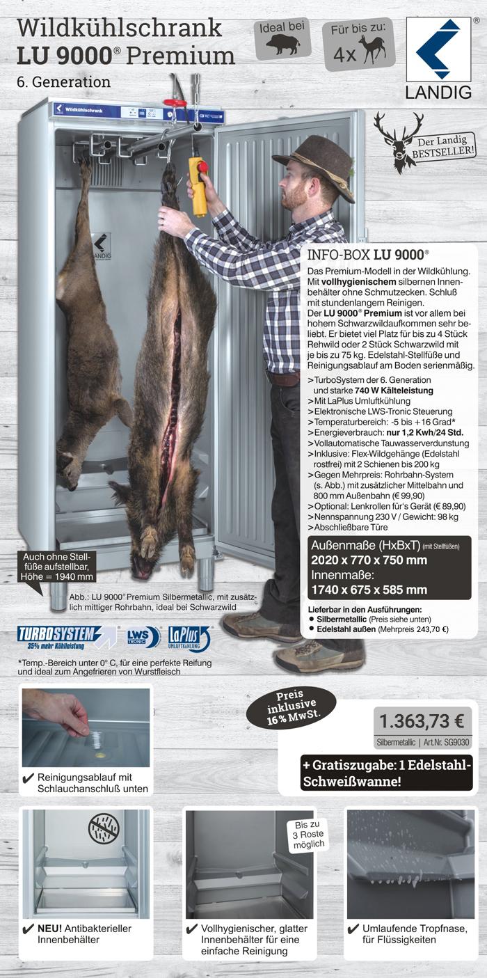 LU 9000 Premium - Hier klicken für mehr Infos und bestellen