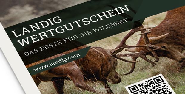 Geschenkgutschein für Jäger